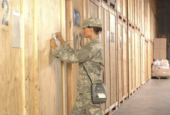 drukarki kodów dla wojska